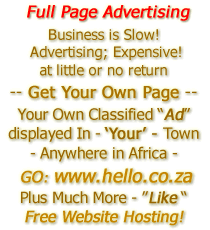 Full Page Advertising